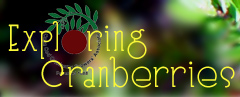 Exploring Cranberries Logo - Go To Home