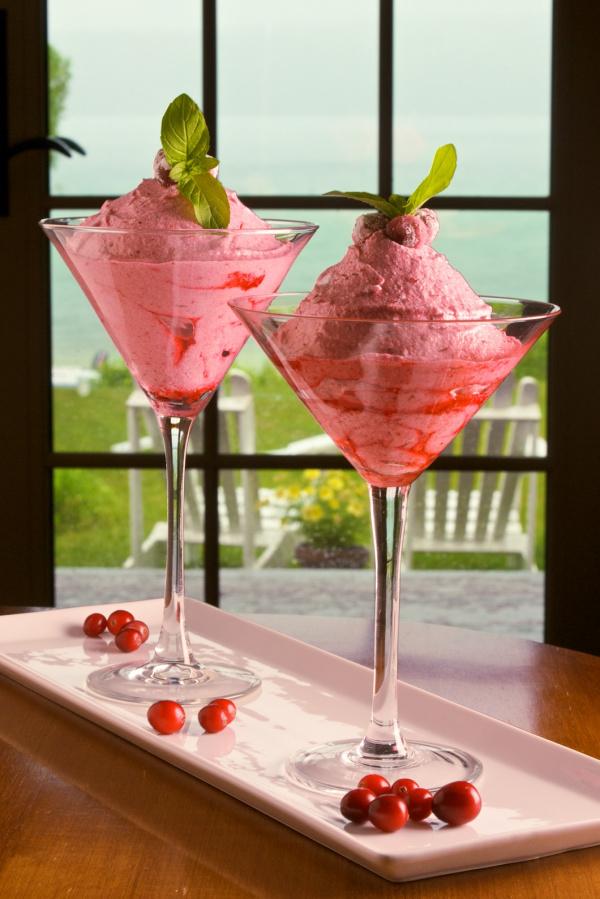 Cranberry Mousse